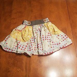 Matilda Jane polka dot Pocket skirt
